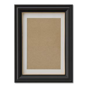 額縁 フォトフレーム 写真立て 木製フレーム 肖像額 5×6 入山 箱入 L|touo