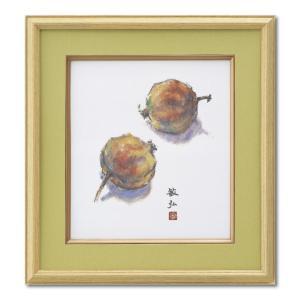 額縁 アートフレーム 色紙額縁 木製 K70 ウグイス|touo