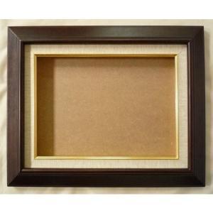 額縁 油彩額 油絵額縁 木製フレーム KL02 サイズF8号|touo