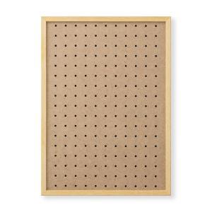 額縁 OA額 ポスター額縁 木製フレーム 有孔ボードパネル A3サイズ ナチュラル touo
