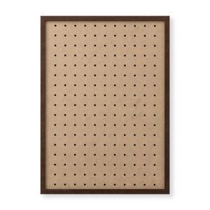 額縁 OA額 ポスター額縁 木製フレーム 有孔ボードパネル A3サイズ ブラウン touo