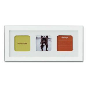 額縁 フォトフレーム 写真立て 木製フレーム フォト額縁 フォトフレーム 写真立て 木製フレーム ファミリー ブルティ 130X320mm ホワイト|touo