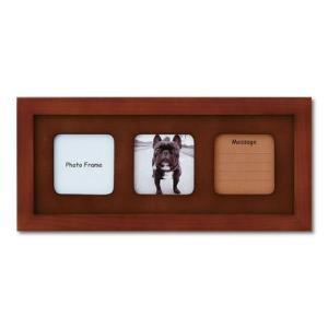 額縁 フォトフレーム 写真立て 木製フレーム フォト額縁 フォトフレーム 写真立て 木製フレーム ファミリー ブルティ 130X320mm ブラウン|touo