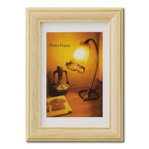額縁 フォトフレーム 写真立て 木製フレーム エビネ KG ナチュラル|touo