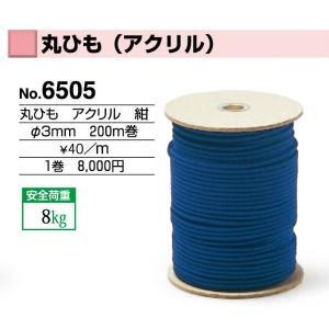 額縁 美術金具 額縁付属品 紐・ワイヤー 丸ひも (アクリル) 6505|touo