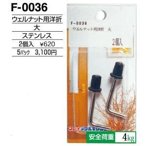 額縁 美術金具 額縁材料 スライドケース入金具セット 5パック ウェルナット用洋折 F-0036|touo