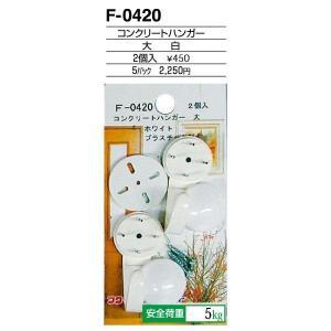 額縁 美術金具 額縁材料 スライドケース入金具セット 5パック コンクリートハンガー F-0420|touo
