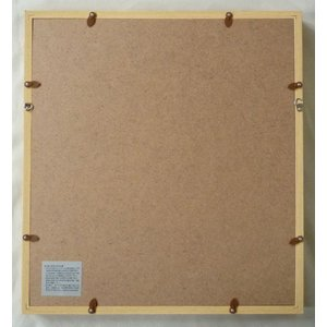 額縁 アートフレーム 色紙額縁 木製 K80の詳細画像2
