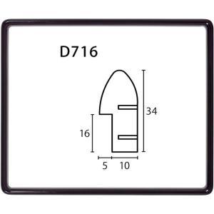 額縁 横長の額縁 木製フレーム D716 サイズ770X450mm touo