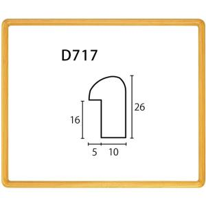 額縁 横長の額縁 木製フレーム D717 サイズ700X300mm|touo