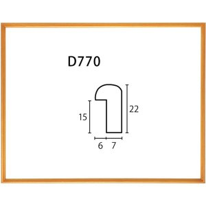 額縁 デッサン額縁 木製フレーム D770 インチサイズ touo