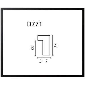 額縁 デッサン額 木製フレーム D771 八ッ切サイズ|touo