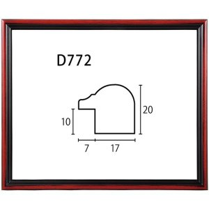 額縁 正方形の額縁 木製フレーム D772 サイズ150X150|touo