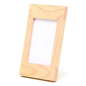 額縁 フォトフレーム 写真立て 木製フレーム 大人のフォトフレーム NA10235 サイズ3.5X5判|touo