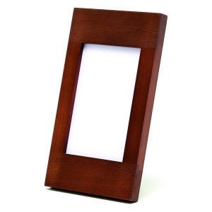 額縁 フォトフレーム 写真立て 木製フレーム 大人のフォトフレーム RB10235C サイズ3.5X5判|touo