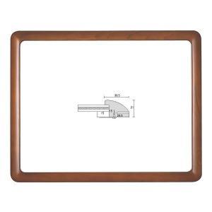 額縁 横長の額縁 木製フレーム D715 サイズ770X450mm touo