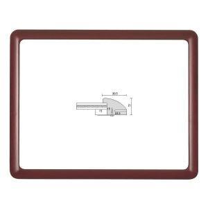 額縁 横長の額縁 木製フレーム D715 700X300mm|touo