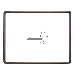 額縁 OA額 ポスター額縁 木製フレーム D716 サイズ900X450mm デッサン額 フレーム ...