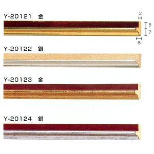 額縁 モールディング 木製 材料 資材 フィレ Y-20121 Y-20122 Y-20123 Y-20124|touo