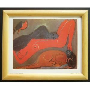 絵画 インテリア アートポスター 壁掛け ヨーロッパ製 (額縁 アートフレーム付き) サイズ八ッ切 KEES「Serenity」|touo