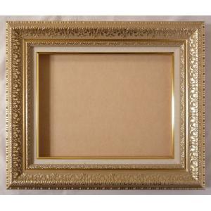 油絵額縁 油彩額縁 アートフレーム MJ108 サイズF3号|touo