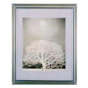 絵画 壁掛け 額縁 アートフレーム付き 東山魁夷 「冬華」 F6号特寸 世界の名画シリーズ プリハード|touo