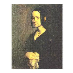 絵画 壁掛け 額縁 アートフレーム付き ジャン・フランソワ・ミレー 「ポーリーヌ・オノの肖像」 F3号 世界の名画シリーズ プリハード|touo
