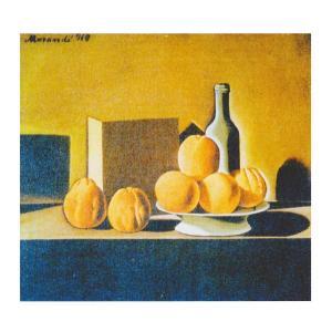 絵画 壁掛け 額縁 アートフレーム付き ジョルジョ・モランディ 「静物」 F3号 世界の名画シリーズ プリハード|touo