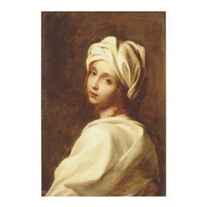 絵画 壁掛け 額縁 アートフレーム付き グイド・レーニ 「ベアトリーチェ・チェンチの肖像」 F8号 世界の名画シリーズ プリハード|touo