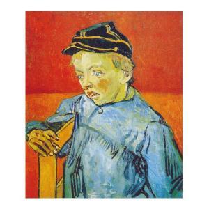 絵画 壁掛け 額縁 アートフレーム付き ヴィンセント・ヴァン・ゴッホ 「カミーユ・ルーラン」 F8号 世界の名画シリーズ プリハード|touo