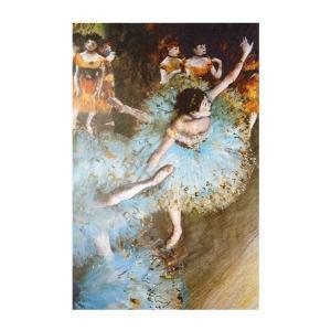 絵画 壁掛け 額縁 アートフレーム付き エドガー・ドガ 「バランスをとる踊り子」 M8号 世界の名画シリーズ プリハード|touo