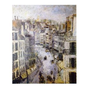 絵画 壁掛け 額縁 アートフレーム付き モーリス・ユトリロ 「ルピック通り」 P10号 世界の名画シリーズ プリハード|touo