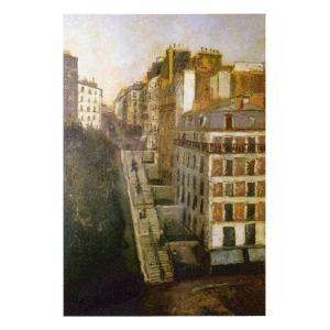 絵画 壁掛け 額縁 アートフレーム付き モーリス・ユトリロ 「ミュラー通り」 P10号 世界の名画シリーズ プリハード|touo