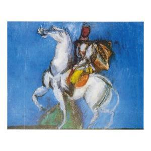 絵画 壁掛け 額縁 アートフレーム付き ラウル・デュフィ 「白い騎手」 P10号 世界の名画シリーズ プリハード|touo