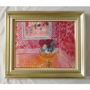 絵画 壁掛け 額縁 アートフレーム付き ラウル・デュフィ 「30歳、またはばら色の人生」 P10号 世界の名画シリーズ プリハード|touo