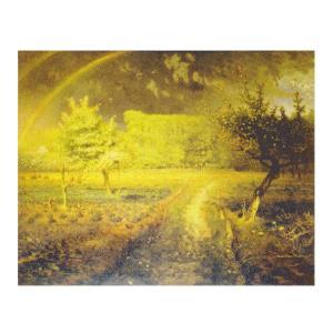 絵画 壁掛け 額縁 アートフレーム付き ジャン・フランソワ・ミレー 「春」 P15号 世界の名画シリーズ プリハード|touo