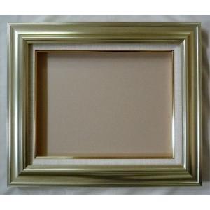 額縁 オーダーメイド額 オーダーフレーム 油絵額縁 油彩額と泥足とケース(仮縁仕上げ) JJ (8117) サイズF30号 S25号 組寸サイズ1700|touo
