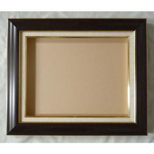 額縁 油絵額縁 油彩額縁 正方形の額縁 マクーテ (8120) サイズF12号 S10号|touo