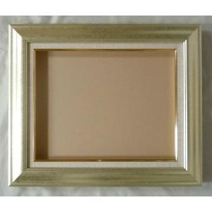 額縁 オーダーメイド額 オーダーフレーム 油絵額縁 油彩額と泥足とケース(仮縁仕上げ) マクーテ (8120) サイズF30号 S25号 組寸サイズ1700|touo