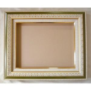 額縁 油絵額縁 油彩額縁 正方形の額縁 スプリィ (8145) サイズF12号 S10号|touo