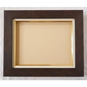 額縁 油絵額縁 油彩額縁 正方形の額縁 プラスム (8151) サイズF12号 S10号|touo