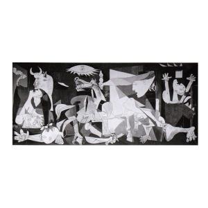 絵画 壁掛け 額縁 アートフレーム付き パブロ・ピカソ 「ゲルニカ」 M20C号 世界の名画シリーズ プリハード|touo