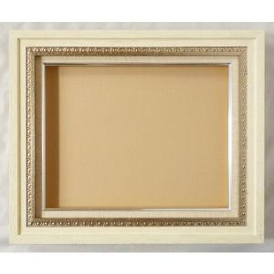額縁 油絵額縁 油彩額縁 木製フレーム テイラ (9190) サイズF6号 S4号|touo