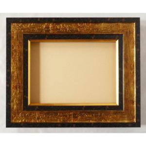 額縁 オーダーメイド額縁 オーダーフレーム 油絵額縁 油彩額縁と泥足とケース(仮縁仕上げ) トアド (9653) サイズP30号 組寸サイズ1700|touo