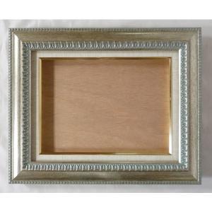 額縁 オーダーメイド額縁 オーダーフレーム 油絵額縁 油彩額縁と泥足とケース(仮縁仕上げ) ダール (9805) サイズP30号 組寸サイズ1700|touo