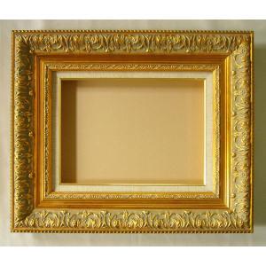 額縁 油絵額縁 油彩額縁 木製フレーム ディアラ サイズF3号 SSM|touo