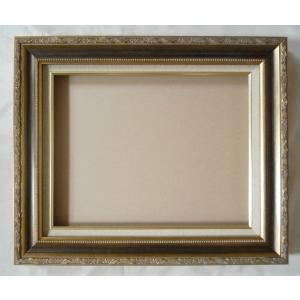 額縁 油彩額 油絵額縁 木製フレーム フロール サイズP5号|touo