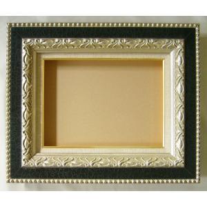 額縁 油絵額縁 油彩額縁 木製フレーム ガイマス サイズP5号|touo