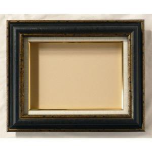 額縁 オーダーメイド額 オーダーフレーム 油絵額縁 油彩額と泥足とケース(仮縁仕上げ) レア サイズP50号 組寸サイズ2200|touo