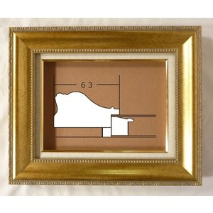 額縁 油彩額 油絵額縁 木製フレーム シオン サイズP0号|touo